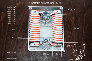 GUANELLA current BALUN